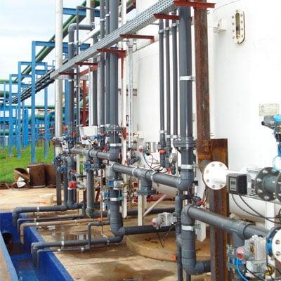 Sistema de Desmineralização de Água por Troca Iônica