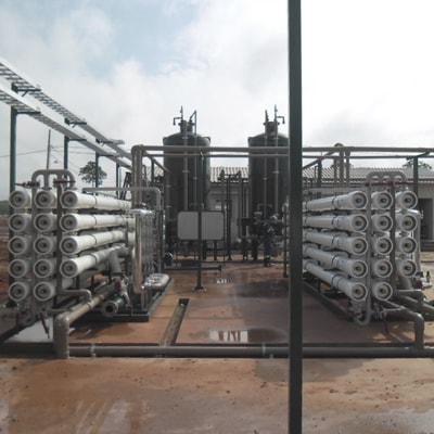 Sistema de tratamento de água residencial