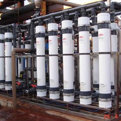 Sistema de Ultra Filtração por Membranas